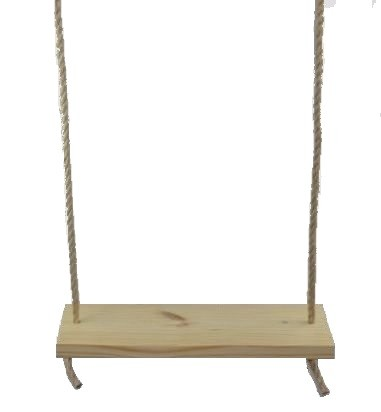 Premium Southern Pine 24 Inch 2 Hole Tree Swing