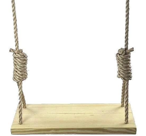 Southern Pine 30 Inch Wooden Tree Swing