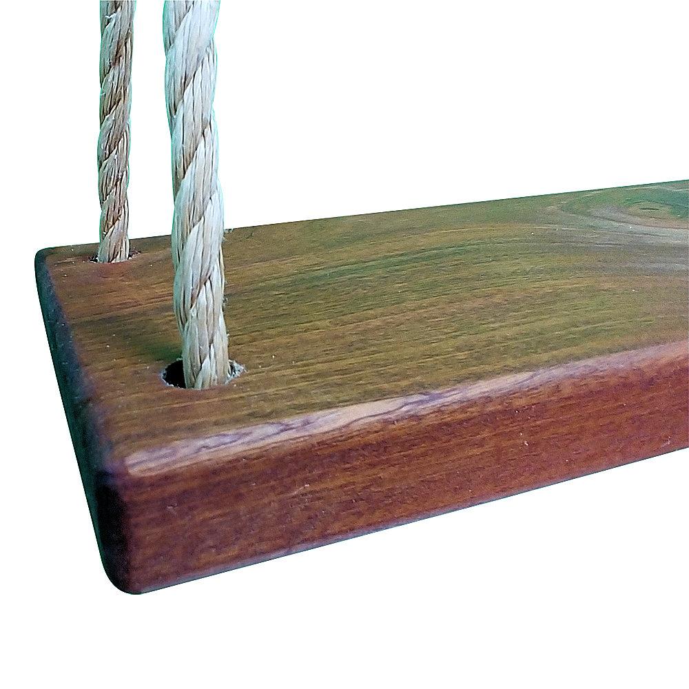 Oak Wood Tree  Swing 12 Feet of Rope each side