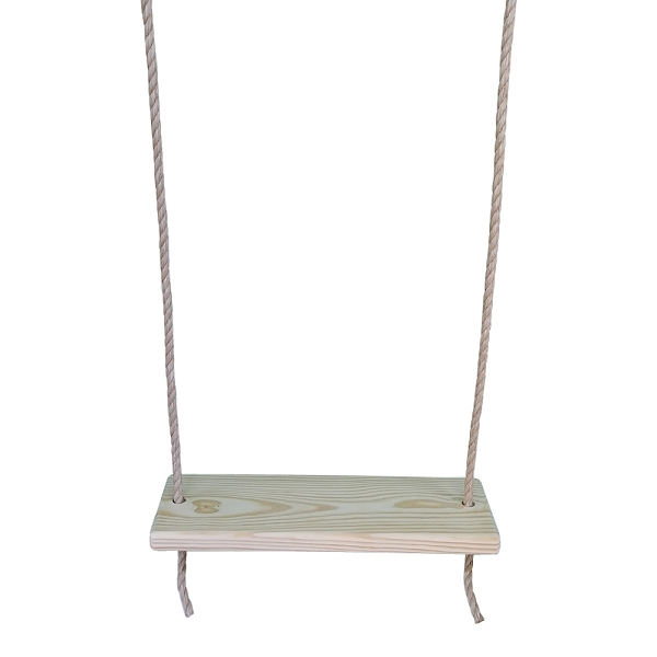 Southern Pine 22 Inch 2 Hole Wooden Tree Swing
