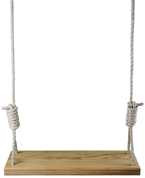 Signature Series Red Oak 42 Inch Tree Swing