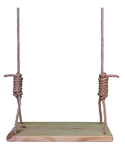 Southern Pine 22 Inch Wooden Tree Swing