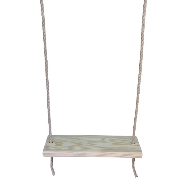 Southern Pine 24 Inch 2 Hole Wooden Tree Swing